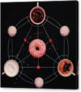 Sweet Alchemy Of Cooking Canvas Print