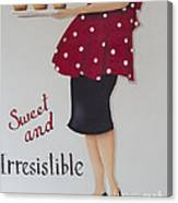 Sweet And Irresistible Canvas Print