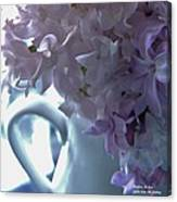 Sweet Cream Lilac Canvas Print