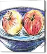 Sweet Crunchy Apples Canvas Print