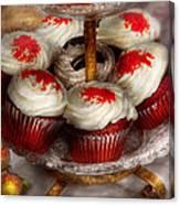 Sweet - Cupcake - Red Velvet Cupcakes  Canvas Print