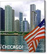 Sweet Home Chicago II Canvas Print