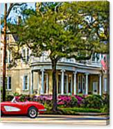 Sweet Home New Orleans 3 Canvas Print