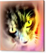 The Sweet Hunter With The Yellow Eyes  Canvas Print