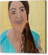 Sweet Lady  Canvas Print