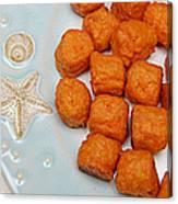 Sweet Potato Puffs Canvas Print