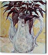 Sweet Potato Vine Canvas Print