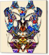 Sweet Symmetry - Flu Bugs Canvas Print