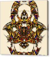 Sweet Symmetry - Kiss Canvas Print