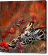 Sweet Taste Of Spring Canvas Print