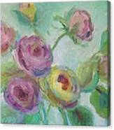 Sweetness Floral Painting Canvas Print