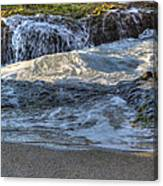 Swell And Receed  Canvas Print