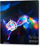 Swerve And Rave Canvas Print