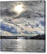Swift Island Bridge 4 Canvas Print