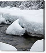 Swift River - White Mountains New Hampshire Usa Canvas Print