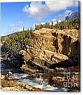 Swiftcurrent Creek Canvas Print