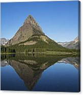 Swiftcurrent Panorama Canvas Print