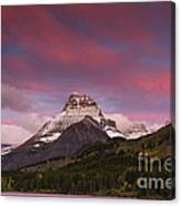 Swiftcurrent Sunrise Canvas Print