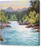 Swiftwater Canvas Print