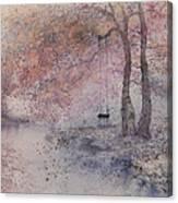 Swing In Tree  Canvas Print