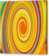 Swirl 80 Canvas Print