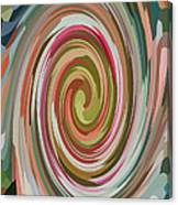 Swirl 92 Canvas Print