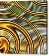 Swirl On Swirl On Swirl On Swirl Canvas Print