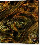 Swirling 2 Canvas Print