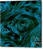 Swirling 3 Canvas Print
