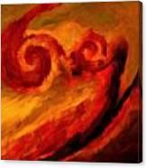 Swirling Hues Canvas Print