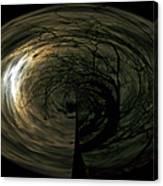 Swirling Moon Canvas Print