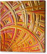 Swirling Rectangles Canvas Print