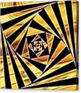 Swirling Spirals Canvas Print