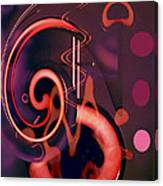 Swirls Abstract Canvas Print