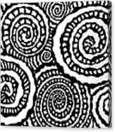Swirly Twirly 2 Canvas Print
