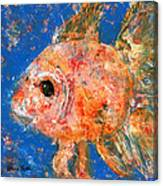 Swishy Fishy Canvas Print