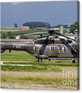 Swiss Air Force Eurocopter Cougar Canvas Print