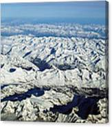 Swiss Alps Canvas Print