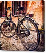 Swiss Bicycle Canvas Print