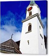 Swiss Church Canvas Print
