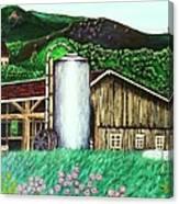 Swiss Granary Canvas Print