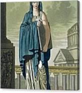 Sybil, Illustration From Lantique Rome Canvas Print