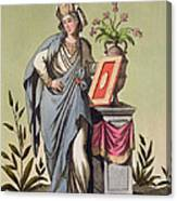 Sybil Of Cumae, No. 16 From Antique Canvas Print