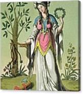 Sybil Of Delphi, No. 15 From Antique Canvas Print