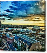 Sydney Harbor Sunrise Canvas Print