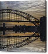 Sydney Harbour Late Afternoon Canvas Print