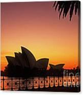 Sydney Harbour Sunrise Canvas Print
