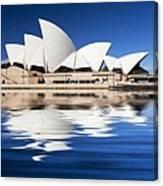 Sydney Icon Canvas Print