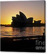 Sydney Morning Canvas Print