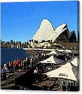 Sydney Opera House Bar Canvas Print